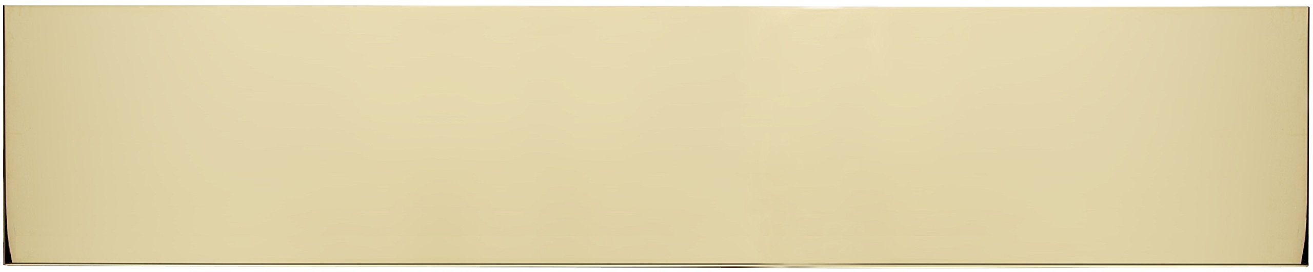 Brass Accents A09-P0634-628MAG Kick Plate Magnetic Mount, 6'' x 34'', Polished Brass-Aluminum