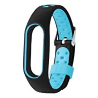 Kingko Nouveau Imperméable Bracelet Léger Ventiler TPE Dragonne Bracelet Remplacement Pour Xiaomi Mi Band 2
