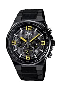 Casio EFR-515PB-1A9VEF - Reloj analógico de cuarzo para hombre con correa de resina, color negro