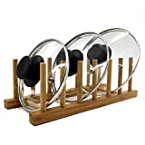 Bamboo Kitchen Dish / Plate / Bowl / Cup / Book / Pot Lid / Drying Rack Stand Drainer Storage Holder Organizer