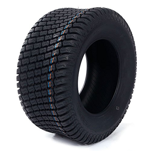 AutoForever 23x10.5-12 Lawn Mower Turf Tires Golf Cart 23x10.50x12 Turf Tread Tractor 4 Ply Tire, Set of 2