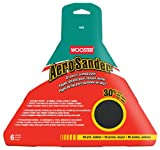 Wooster Brush 1802 AeroSander Drywall Sandpaper 6-Pack, 80 Grit