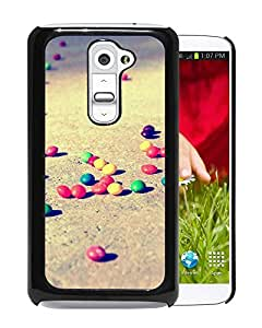 Colorful Candies On The Ground Durable High Quality LG G2 Phone Case