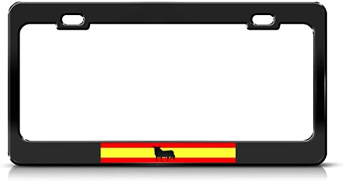 I LOVE MY COUNTRY METAL PATRIOTIC License Plate Frame Tag Holder