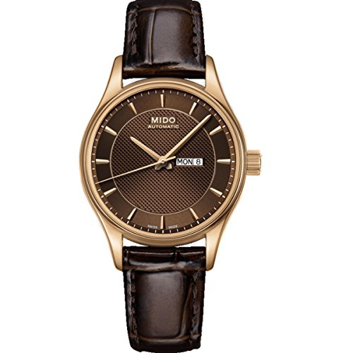MIDO Women's Automatic Watch Belluna M0012303629112 with Leather Strap