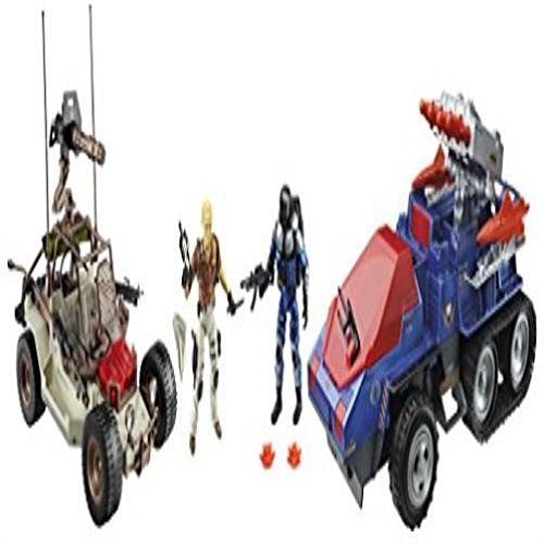 @New@ G.I. Joe Desert Duel Vehicles With Action Figures Exclusive Toy Game Kids ,#G14E6GE4R-GE 4-TEW6W220121