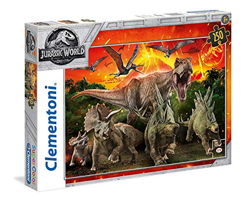 - Universal Studios Clementoni 250 Piece Jurassic World Fallen Kingdom Jigsaw Puzzle Ages 7 to 14 Years
