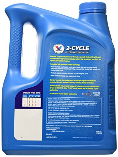 Free shipping valvoline 2 cycle tc w3 outboard marine oil for Valvoline motor oil certification