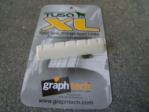 - Graph tech TUSQ XL nut BQL-6010-00 white fits Gibson Les Paul guitar