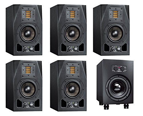 Adam A3X Active Studio Monitor 5.1 Surround System with Sub8 - The Fogg