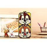 Disney ディズニー iphone6 ケース 携帯ケース チップとデール クラリス アイフォン ケース iphone6
