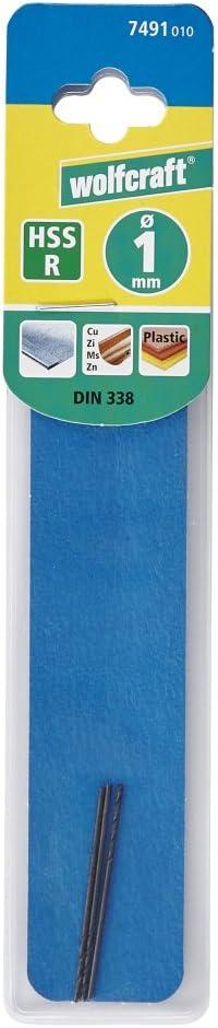 Wolfcraft 7501010 Metal Drill Bit Laminated High-Speed Steel Diameter 4.2 mm