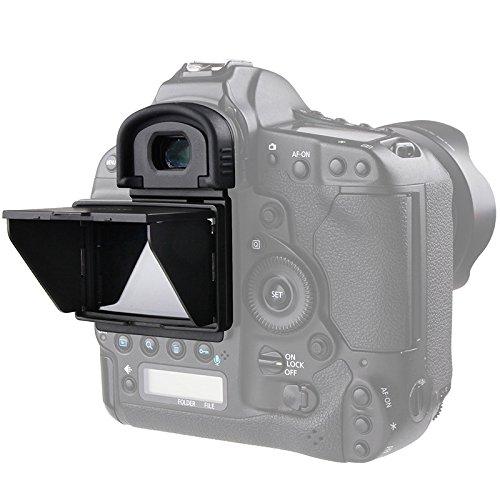 STSEETOP Canon 1DX i/ii Sun Shade Screen Protector,Professional Camera Sunshade Visor LCD Hood Screen Protector for Canon 1DX I/II 1DX 1DX2 (Canon 1dx Screen Protector)