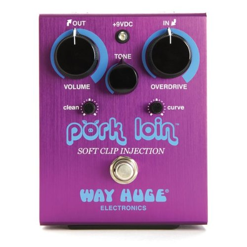 Dunlop Way Huge Pork Loin Soft Clip Injection Overdrive Effect Pedal - Soft Distortion Pedal