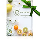 Antioxidant Facial Mask by Eve Hansen. Natural Anti Aging Face Mask Pack (5X Sheet Masks) With A Unique Blend Of Antioxidants To Help Reduce Sun Damage, Increase Skin Elasticity, And Repair Skin.