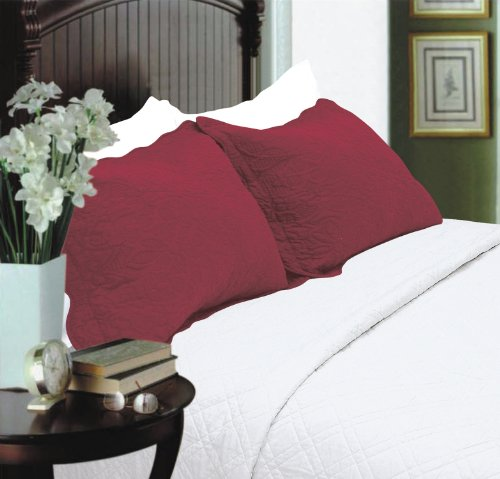 pillow shams king quilted - 1