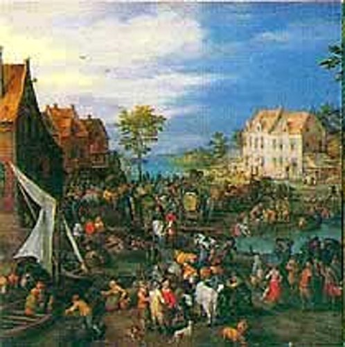 Battle Road Press Flemish Fair 500 Plus Piece Pieter Bruegel Jigsaw Puzzle