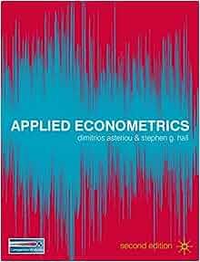 applied econometrics by dimitrios asteriou pdf free download
