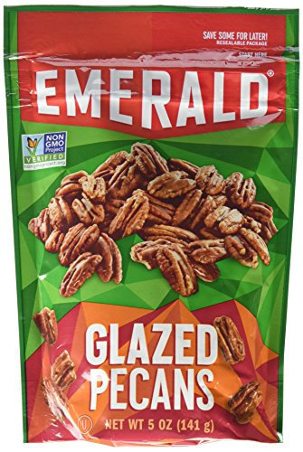 Emerald Glazed Pecans,Non GMO Verified, 5oz (Pack of ()