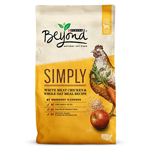 Purina Beyond Simply White Meat Chicken & Whole Oat Meal Recipe Adult Dry Cat Food - 13 lb. (Dry Soils)