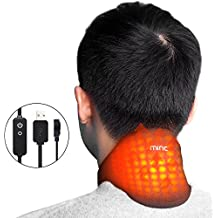 Miric Neck Protector Graphene Neck Heating Pad portable Neck Warmer with Beneficial Far Infrared, Fatigue Relieving, Beauty Therapy