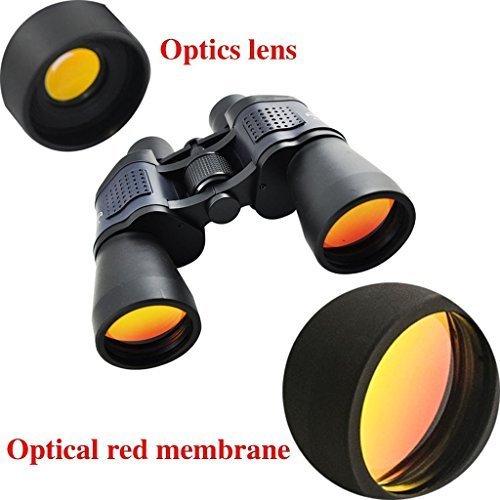 SHENFAN 60x60 Zoom Hd LLl Night Vision Optical Wide-angle Telescope--Serious User With Fully Coated Optics For All Uses Including Bird Watching, Astronomy, Sports And Wildlife,Black