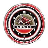 International Harvester McCormick Farmall 15 Inch Double Neon Wall Clock