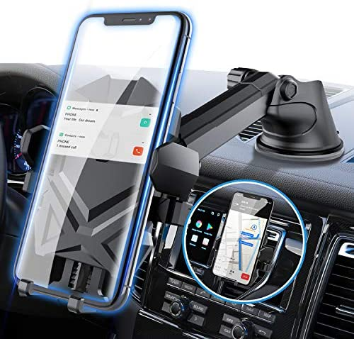 Phone Holder for Car, Manords Dashboard Windshield Air Vent