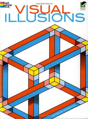 Visual Illusions Coloring Book (Dover Design Coloring Books) (Optical Glass Collection)