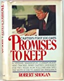 img - for Promises to Keep: Carter's First Hundred Days book / textbook / text book