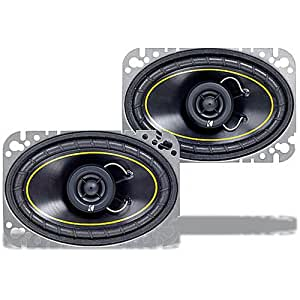 Kicker 07DS460 4-Inch X 6-Inch Coax Speakers (Pair)