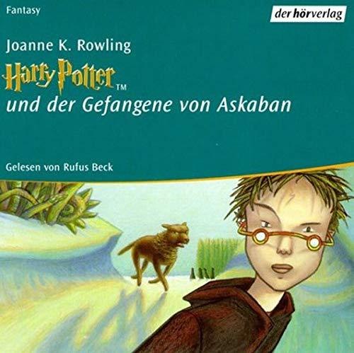 Harry Potter Und Der Gefangene Von Askaban Sonderausgabe 11 Cds Vollstandige Lesung Rowling Joanne K Beck Rufus 9783895849619 Amazon Com Books