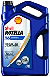 Rotella 550045347 T6 Synthetic Motor Oil (5W-40 CK-4), 1 gallon