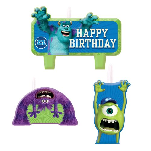 monsters inc birthday candle - 2
