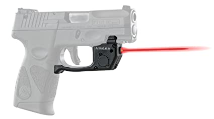 ArmaLaser Taurus PT111 PT140 Millenium G2 G2c G2s TR23 Red Laser Sight with  Grip Activation