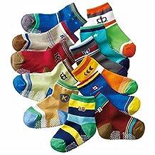 Baby Boys Socks Gift Set-12-pack Socks-have Anti-skid Particles