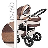 Baby Merc Q9 Passeggino 3in1