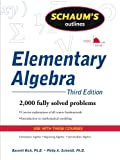 img - for Schaum's Outline of Elementary Algebra, 3ed book / textbook / text book