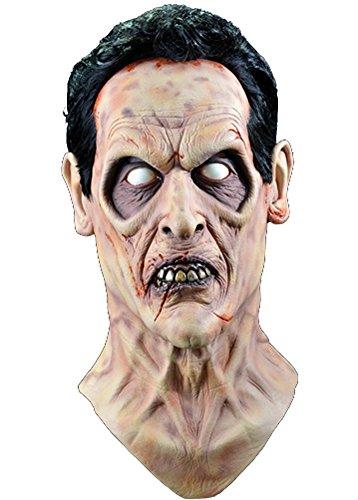 Dead Ash Costume Evil (Trick or Treat Studios Women's Evil Dead 2 Evil Ash Halloween Mask One Size)