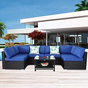 51oO1rvkUNL._SS300_ 100+ Black Wicker Patio Furniture Sets For 2020