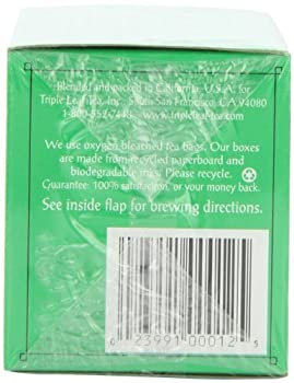 Triple Leaf Tea, Ultra Slim, 20 Tea Bags (Pack Of 6) 4