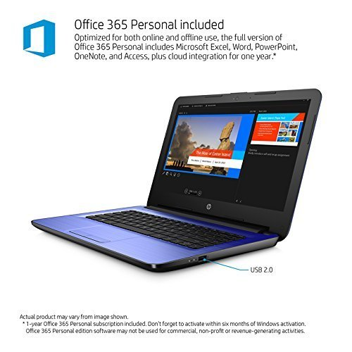 HP Blue (hp notebook 14)