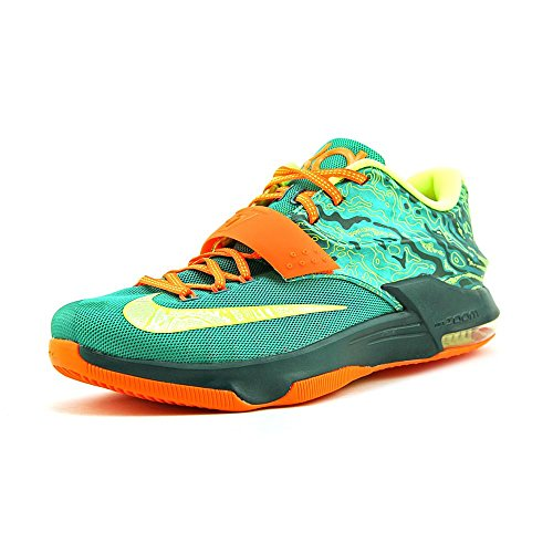meet 1e0b8 3f27f Galleon - Nike Men s KD VII Emrld Grn Mtllc Slvr Dk Emrld Basketball Shoe  10.5 Men US