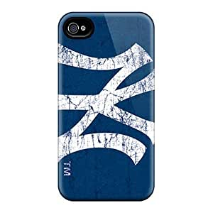 Hot New York Yankees First Grade Tpu Phone Case for iphone 4/4s Case Cover