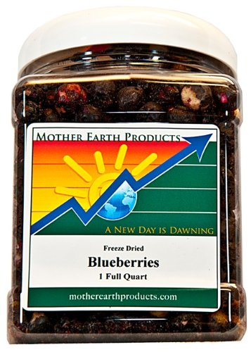 Mother Earth Products Freeze Dried Blueberries, 4 ()