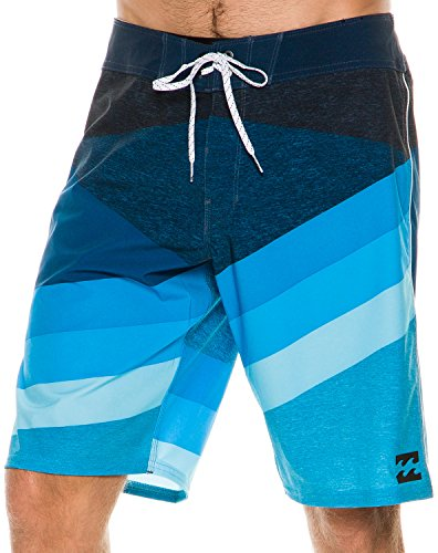 Billabong Men's Slice X Stretch Boardshort, Blue, 32