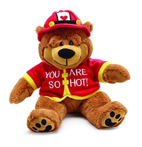(Burton and Burton You are So Hot Fireman Bear Plush Toy, 14