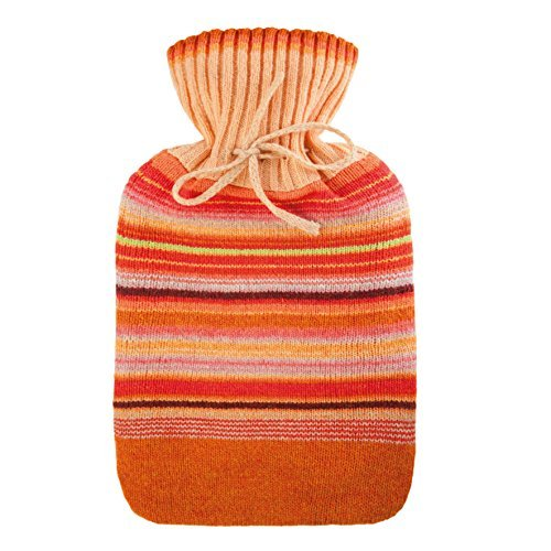 Aroma Home Orange Fragranced Knitted Hot Water Bottle by Aroma Home