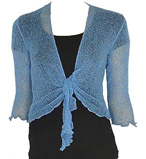 Janisramone Nuevo Mujeres Señoras Doble Fino Tricotar Bali Corbata ...