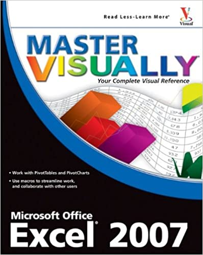 Amazon.com: Master VISUALLY Excel 2007 (9780470181706): Elaine ...